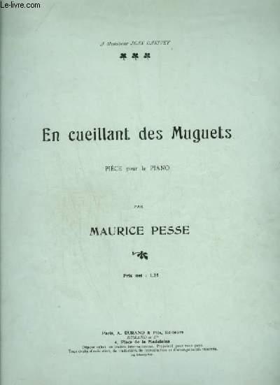 EN CUEILLANT DES MUGUETS - POUR PIANO.