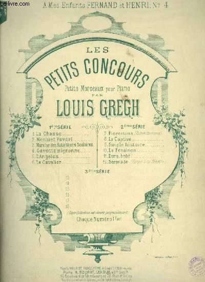 GAVOTTE MIGNONNE - POUR PIANO - N°4 DES PETITS CONCOURS.