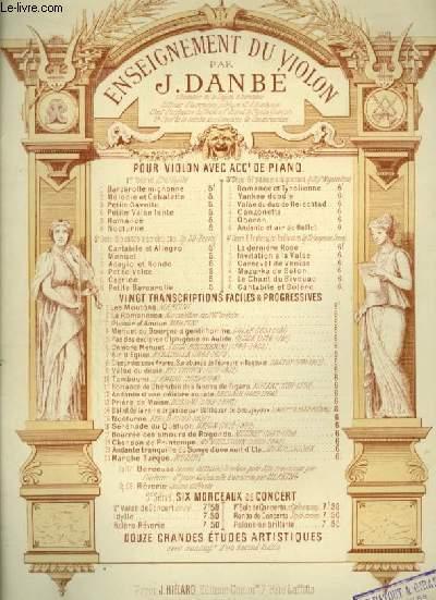 PETITE GAVOTTE - PIANO ET VIOLON.