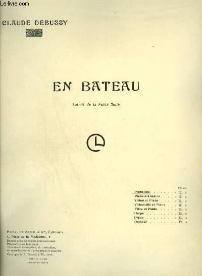 EN BATEAU - POUR PIANO.