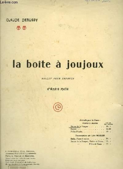 LA BOITE A JOUJOUX - POUR PIANO.