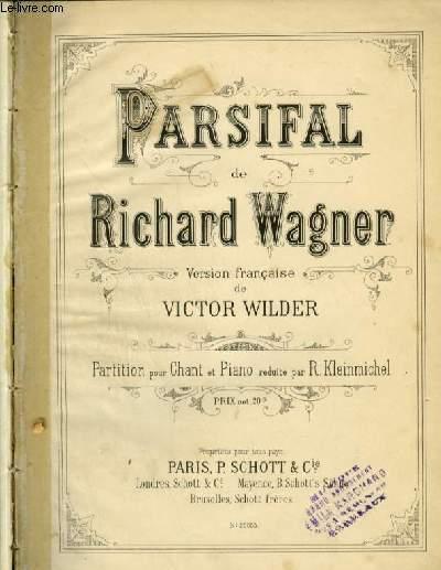 PARSIFAL - PIANO ET CHANT AVEC PAROLES.