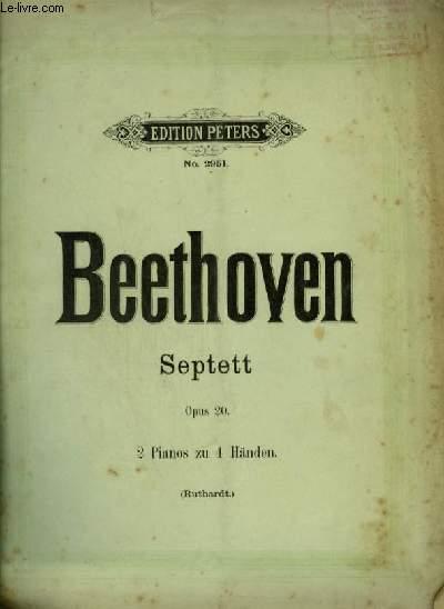 SEPTETT - OPUS 20 - 2 PIANOS ZU 4 HÄNDEN.