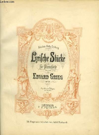 LYRISCHE FÜR PIANOFORTE - OP.12.