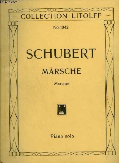 MÄRSCHE / MARCHES - PIANO SOLO / FÜR KLAVIER ZU 2 HÄNDEN.