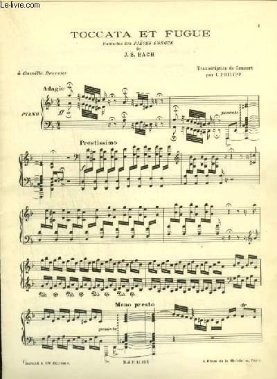 TOCCATA ET FUGUE - POUR PIANO