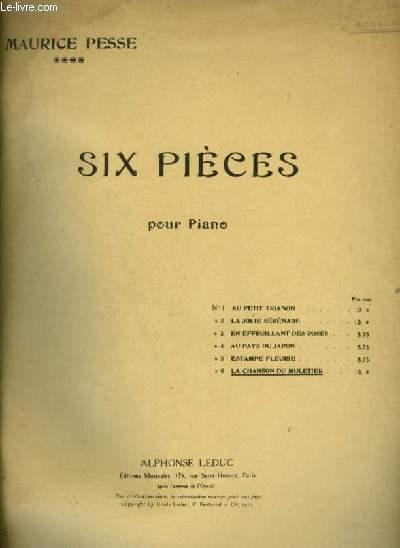 LA CHANSON DU MULERIER - POUR PIANO.