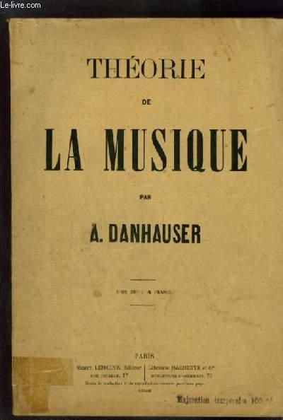 THEORIE DE LA MUSIQUE.