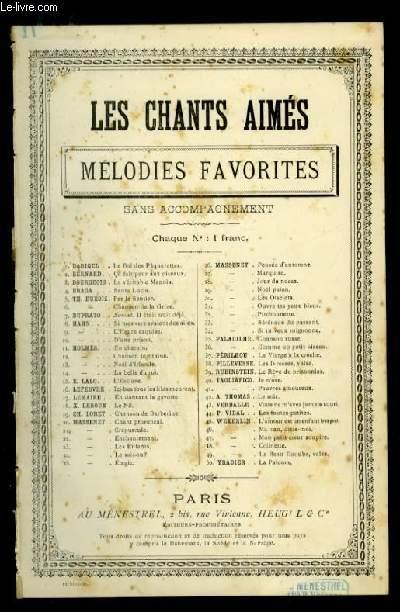 EN CHEMIN - LES CHANTS AIMES / MELODIES FAVORITES - N°11 - POUR CHANT AVEC PAROLES.