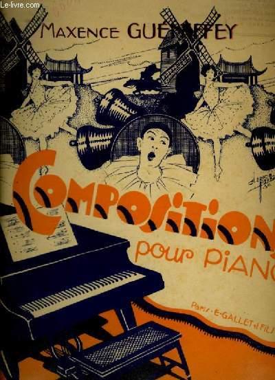 LE CAHIER DE JOSETTE - PIECE N°6 : VOIS-TU CE PAPILLON QUI VA DE FLEUR EN FLEUR ? - POUR PIANO.