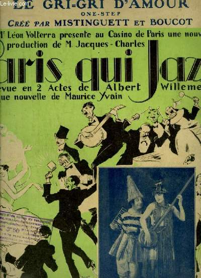 LE GRI-GRI D'AMOUR - POUR PIANO.