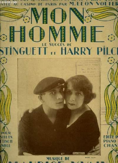 MON HOMME - SCHOTTISCH ESPAGNOLE POUR PIANO.