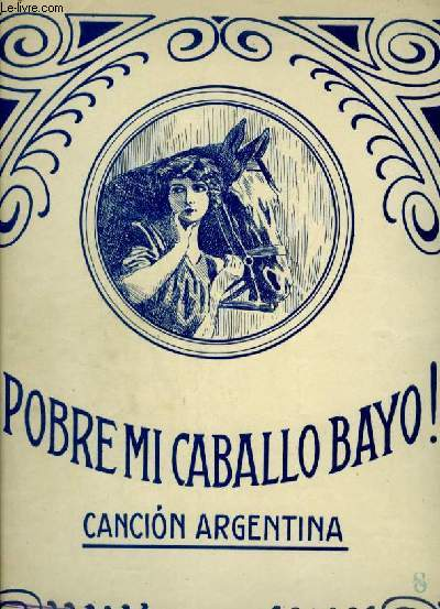 POBRE MI CABALLO BAYO - CANCION ARGENTINA - PIANO + PAROLES.