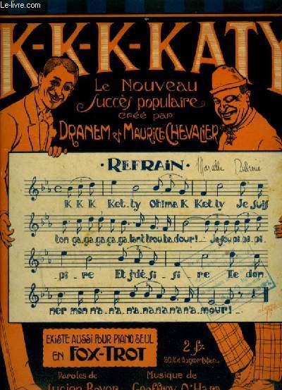 K-K-K-KATY - POUR PIANO.