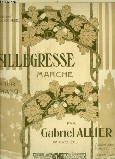 ALLEGRESSE - MARCHE POUR PIANO.