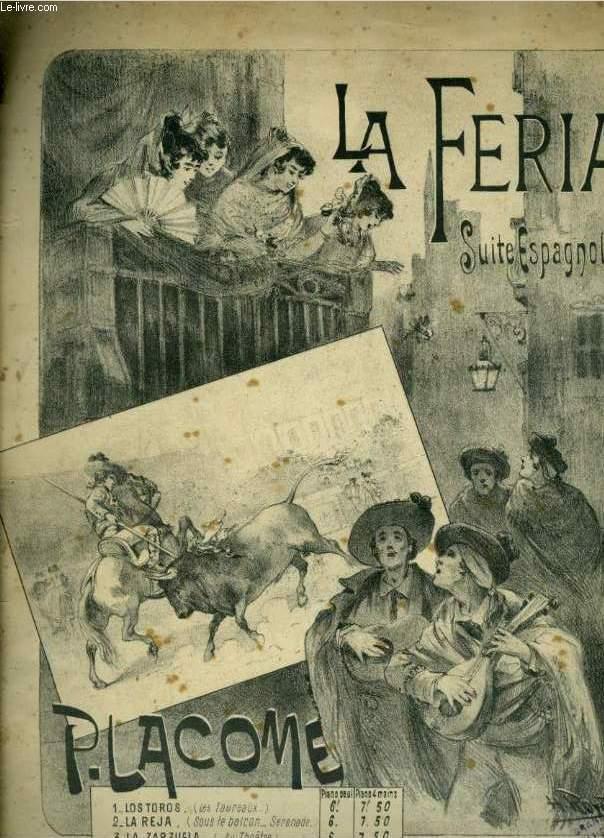 LA FERIA N°1 : LOS TOROS - POUR PIANO.