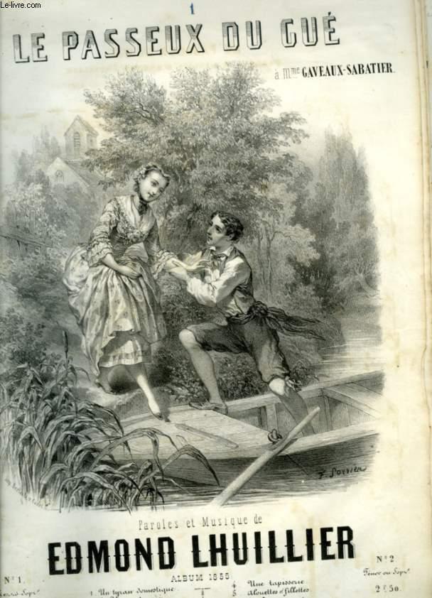 LE PASSEUX DU GUE - POUR PIANO ET CHANT AVEC PAROLES.
