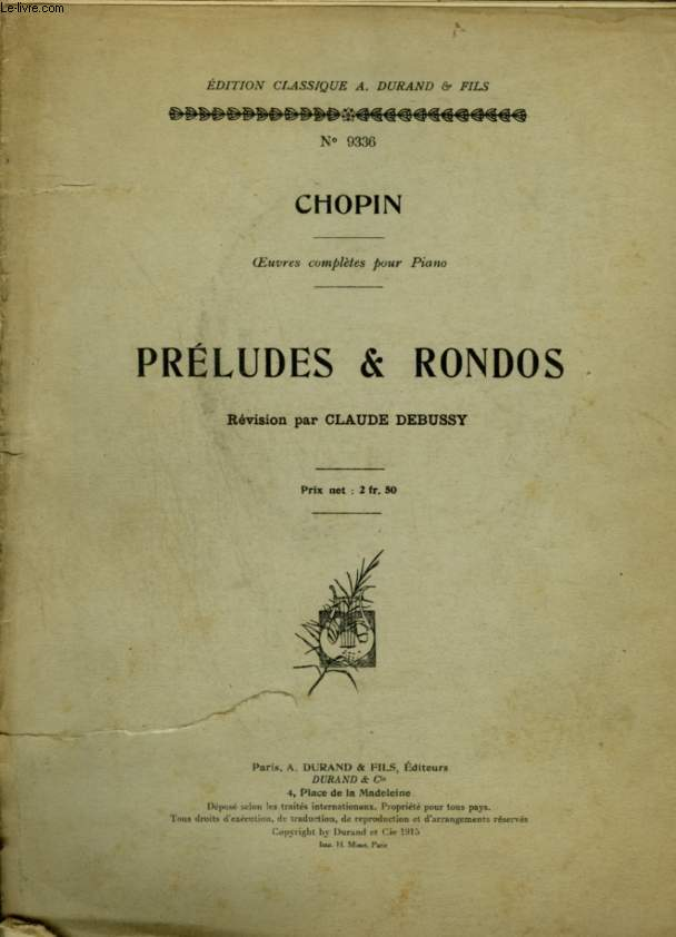 PRELUDES & RONDOS - OEUVRES COMPLETES POUR PIANO.