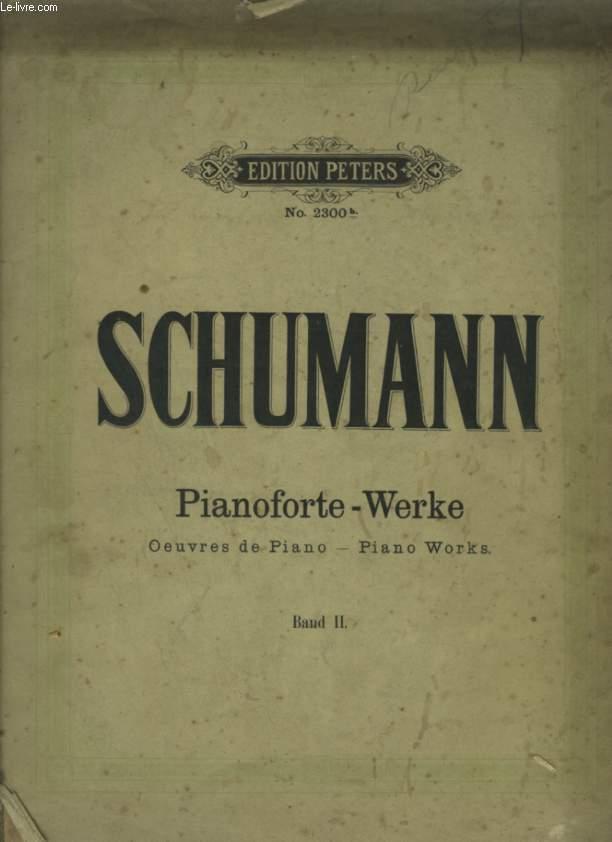 PIANOFORTE - WERKE / OEUVRES DE PIANO / PIANO WORKS - BAND II.