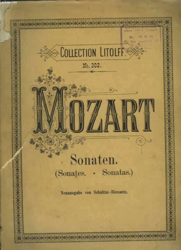 SONATEN / SONATES / SONATAS - POUR PIANO.