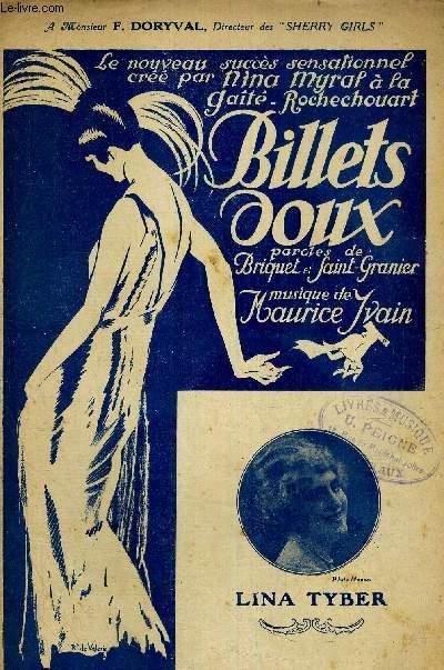 BILLETS DOUX... - A MONSIEUR F. DORYVAL