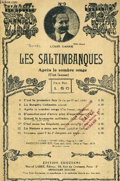 LES SALTIMBANQUES - OPERA COMIQUE EN 3 ACTES ET 4 TABLEAUX N°9