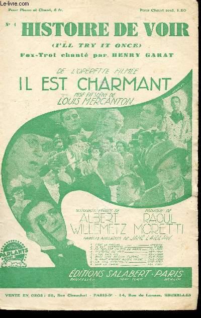 HISTOIRE DE VOIR - I'LL TRY IT ONCE - FOX TROT CHANTE N°4