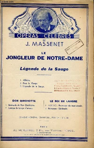 LE JONGLEUR DE NOTRE DAME - MIRACLE EN 3 ACTES N°55
