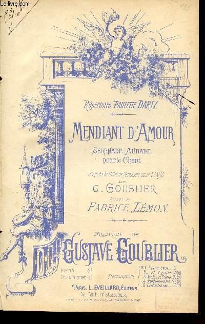 MENDIANT D'AMOUR - SERENADE AUBADE