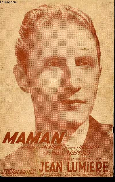 MAMAN - A JEAN LUMIERE