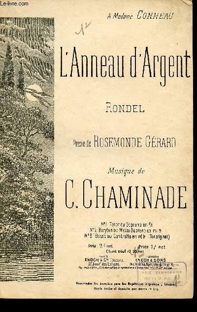 L'ANNEAU D'ARGENT - RONDEL - A MADAME CONNEAU