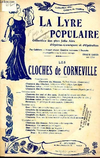 LES CLOCHES DE CORNEVILLE - OPERA COMIQUE EN 3 ACTES - N°14bis - N°19 - N°20