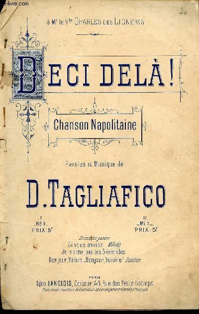 DECI, DELA.  - CHANSON NAPOLITAINE
