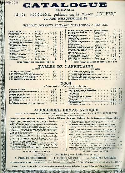LE RETOUR - DUETTINO - PAROLES DE GUERIN