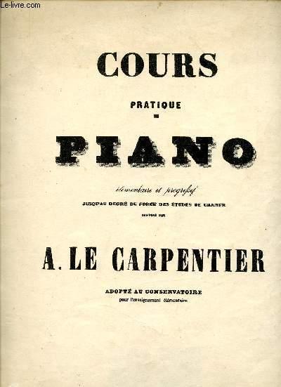 COURS PRATIQUE PIANO ELEMENTAIRE ET PROGRESSIF