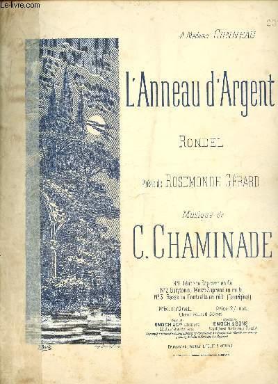 L'ANNEAU D'ARGENT - RONDEL - A MADAME CONNEAU - N°2