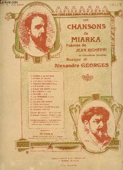 LES CHANSONS DE MIARKA - L'EAU QUI COURT - N°6