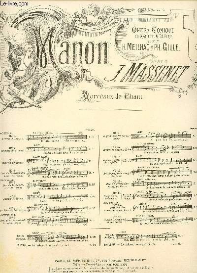 MANON - AH! FUYEZ DOUCE IMAGE!... - ACTE III