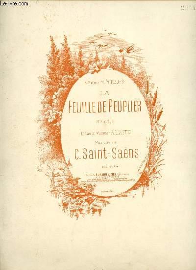 LA FEUILLE DE PEUPLIER - A MADAME M. FORGUES