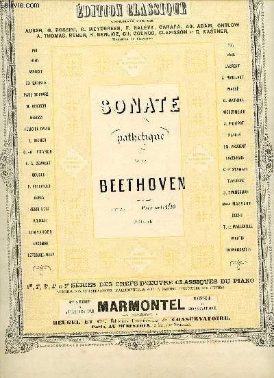 SONATE PATHETIQUE DE BEETHOVEN - EDITION CLASSIQUE