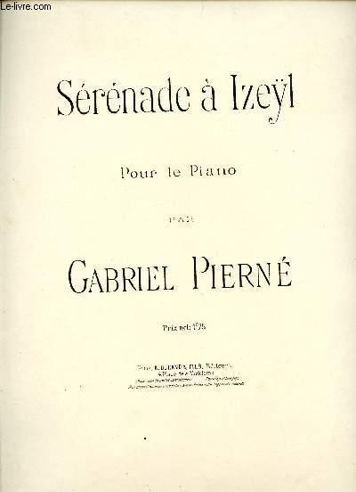 SERENADE A IZEYL - POUR LE PIANO