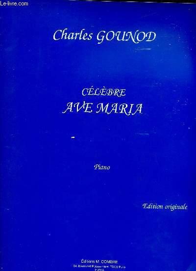 CELEBRE AVE MARIA - PIANO