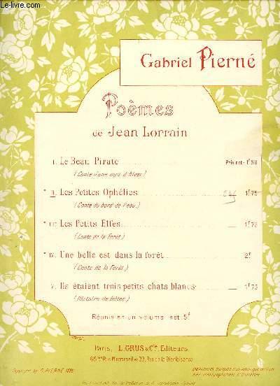 POEMES DE JEAN LORRAIN -  II LES PETITES OPHELIES