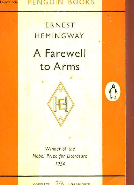 passage analysis a farewell to arms