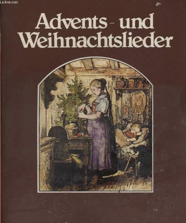 ADVENTS - UND WEIHNACHTSLIEDER