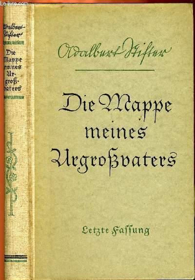 DIE MAPPE MEINES URGROßVATERS, LETZTE FASSUNG