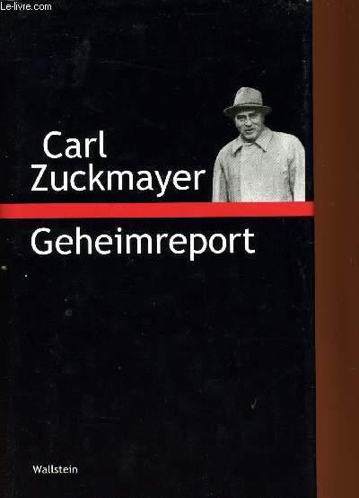 GEHEIMREPORT