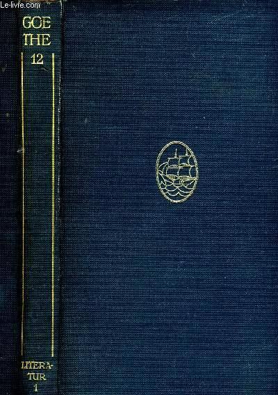 AUFSÄTZE ZUR KULTUR, THEATER UND LITERATUR, GESCHICHTE MAXIMEN REFLEXIONEN, BAND 1