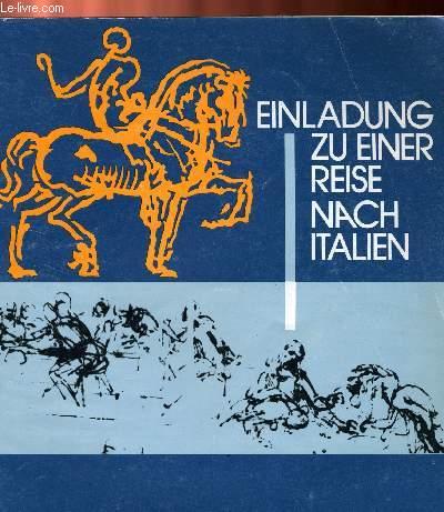 EILANDUNG ZU EINER REISE NACH ITALIEN