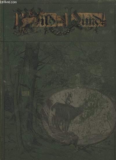 WILD UND HUND, SIEBZEHNTER JAHRGANG 1911. (1-52)